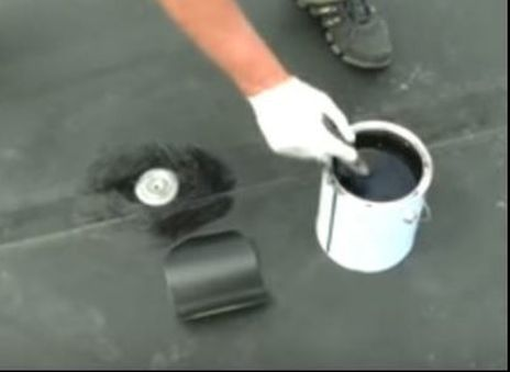 EPDM Roof Repair Patch Skyward Roofing New York