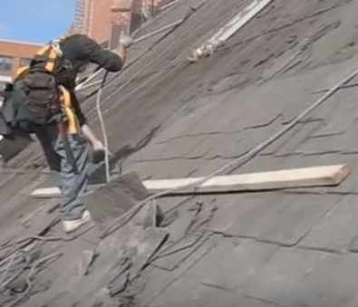 Removing a Slate Roof Skyward Roofing Yonkers, NY