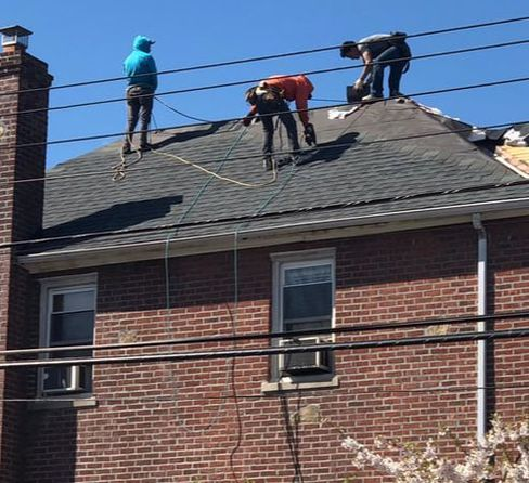 Re-Roofing Brick Home Skyward Roofing Bronx NY