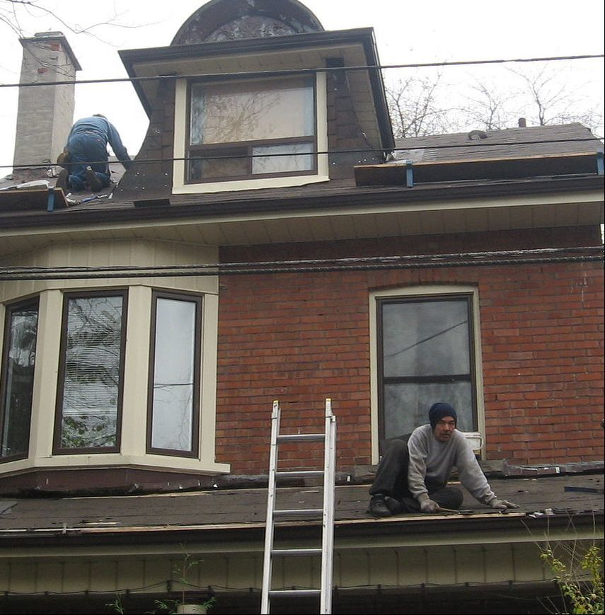 Replacing Roof Skyward Roofing Bronx NY
